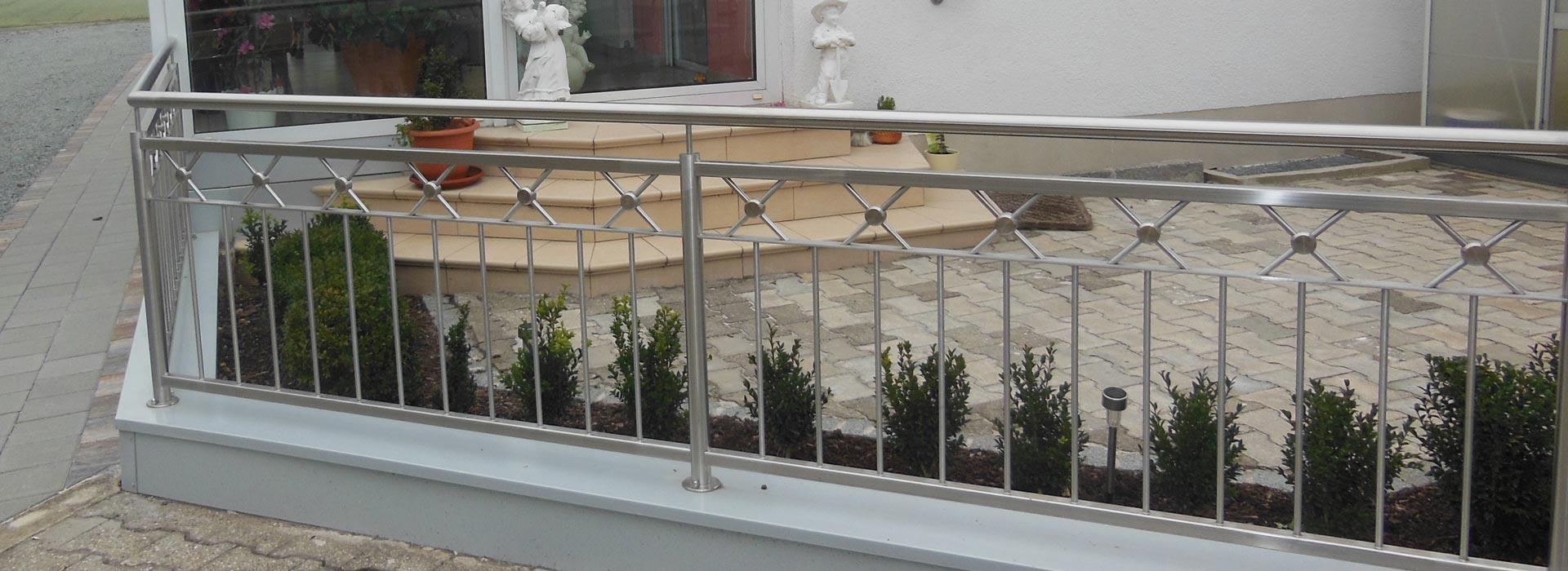 Geländer von Metallbau Scheifl